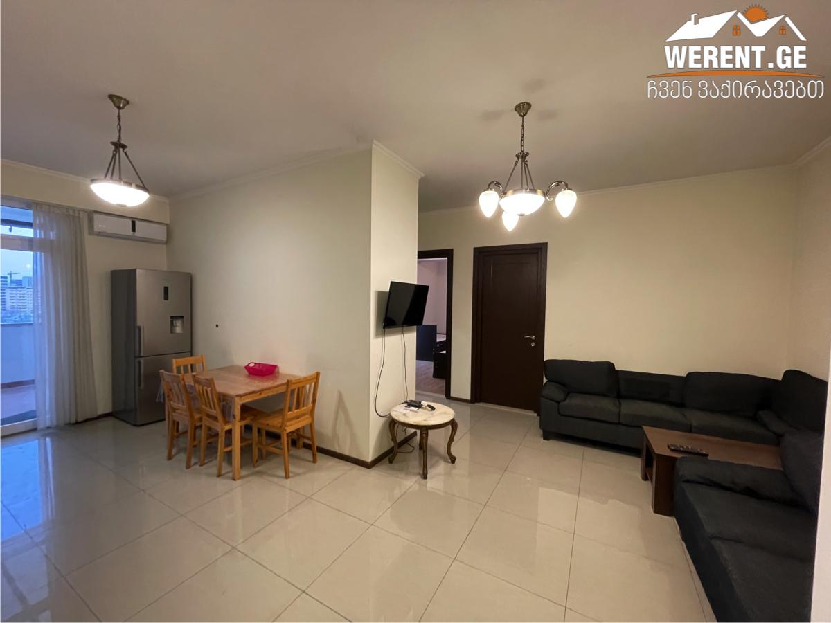 3-Room Apartment For Rent on Vazha-Pshavela, near the City Mall