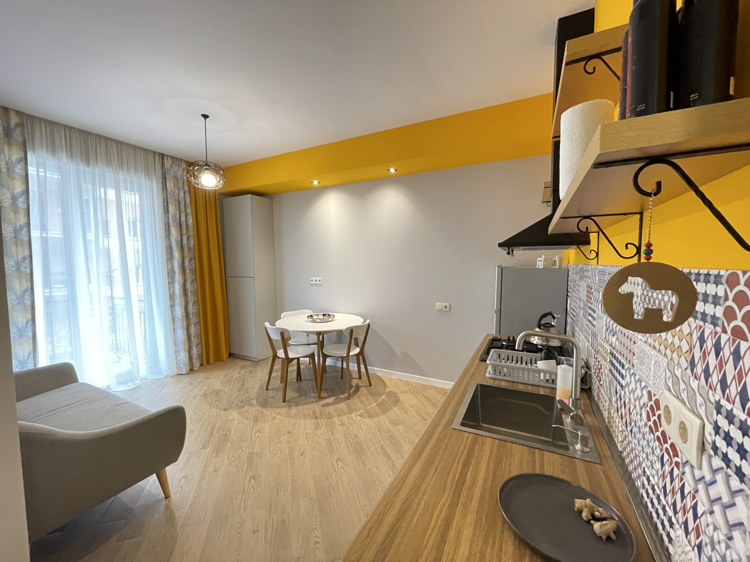 """2-Room Apartment For Rent At """"Jikia House"""" Residential Complex"""
