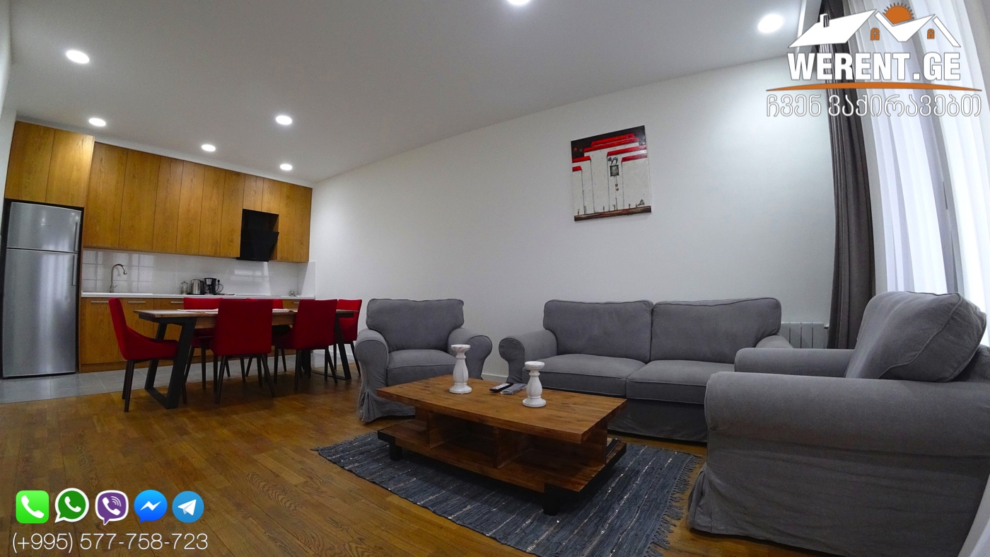 """2-Room Apartment For Rent At """"Tbilisi Gardens"""""""