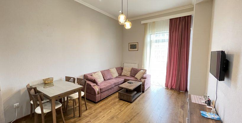 "2-Room Apartment For Rent In ""Domus"" Near Hippodrome, Saburtalo, Tbilisi"