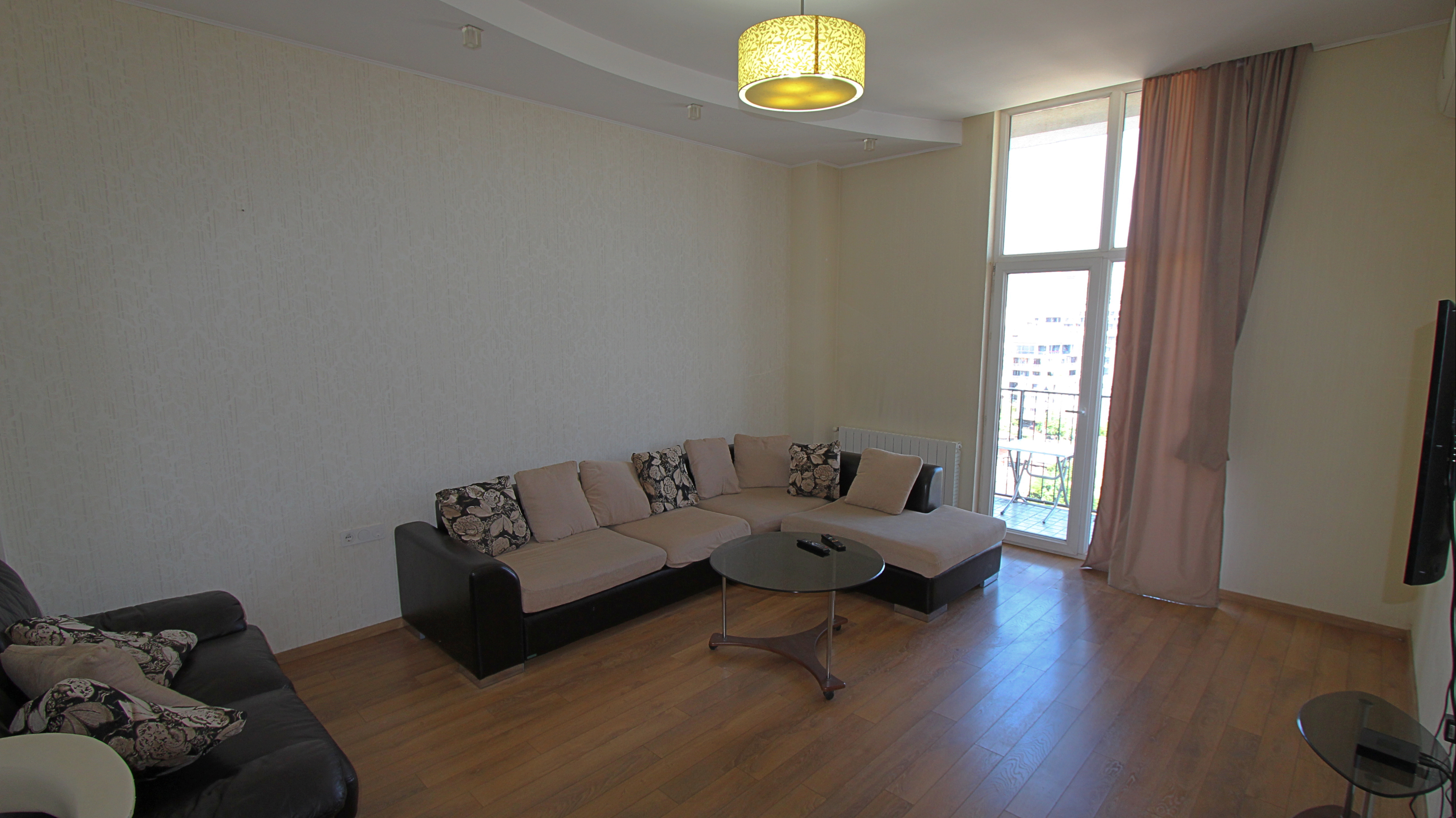 """3-Room Apartment For Rent on Tsintsadze Street, at """"Axis Palace 2"""""""