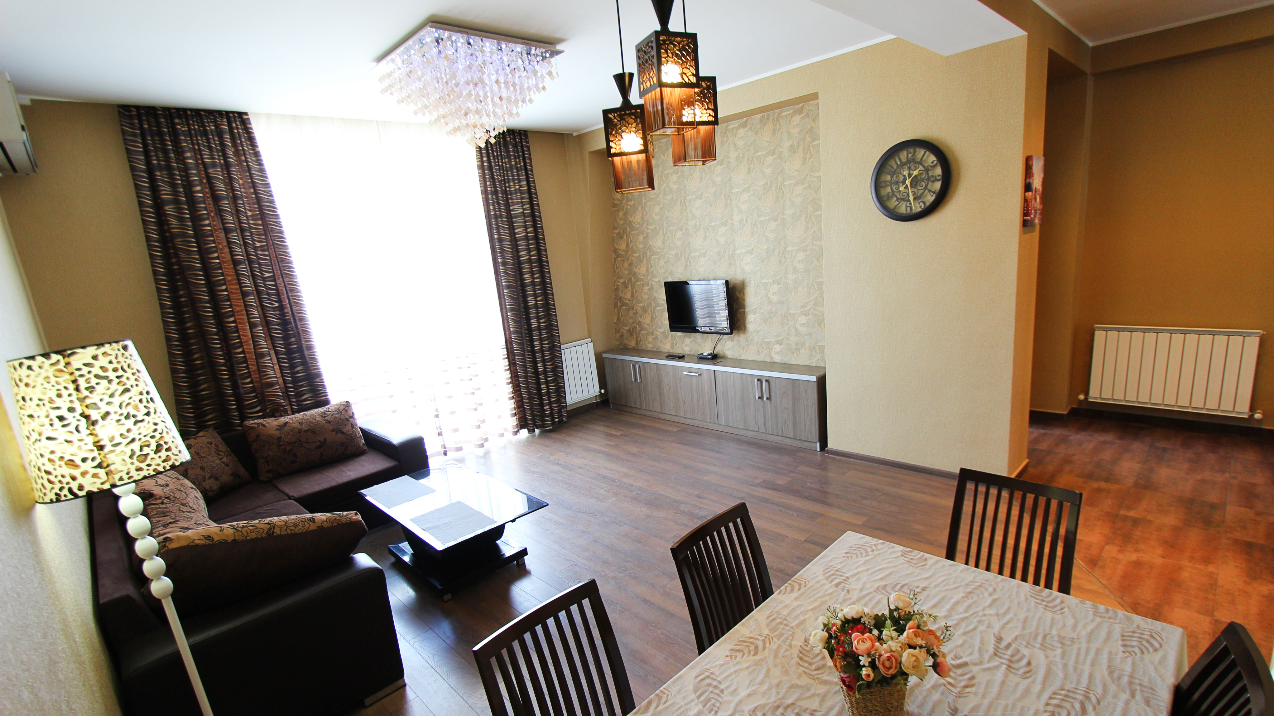 """3-Room Apartment For Rent on Tsintsadze St, in """"Axis Palace I"""""""